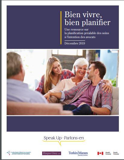 ACSP présente de nouvelles ressources pour appuyer les volets juridiques de la planification préalable des soins (PPS) au canada